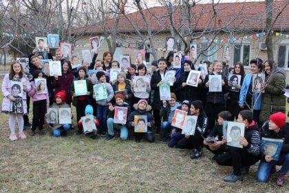 In December, children of the SOS Children's Villages Tashkent, Samarkand and Khorezm received a parcel from US, which had their portraits in it!