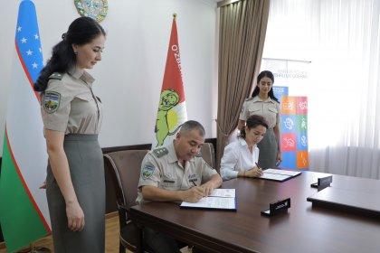 SOS Children's Villages of Uzbekistan and the National Guard of the Republic of Uzbekistan signed a memorandum of cooperation