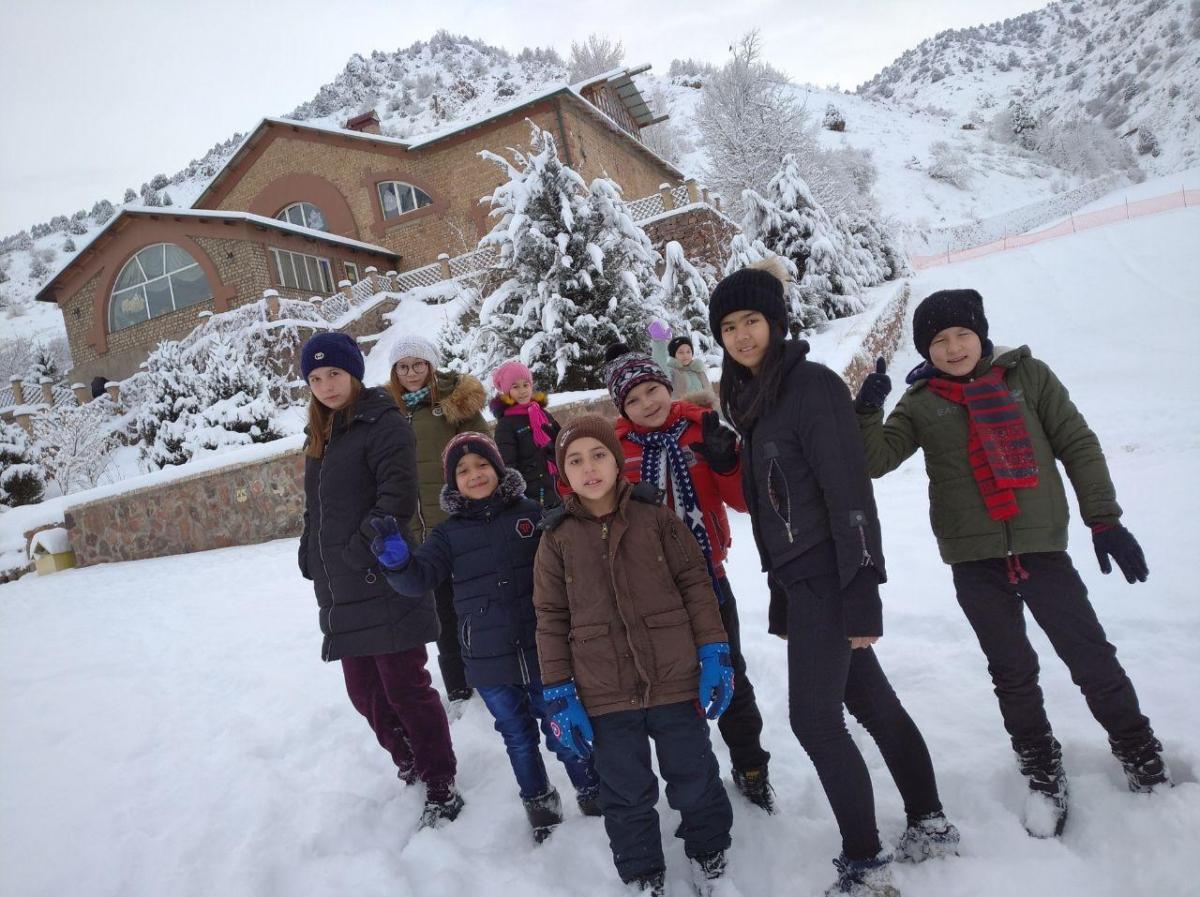 Зимние каникулы в туристической зоне