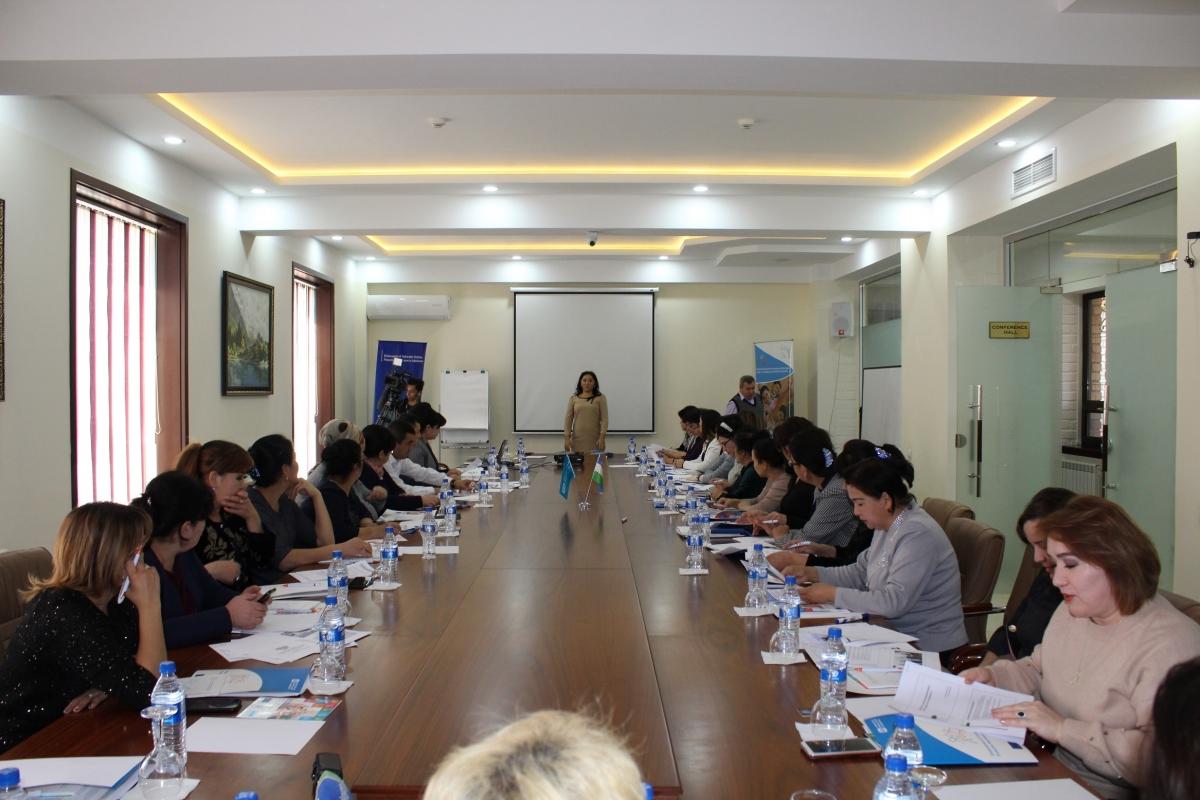 Профессиональная сетевая встреча в рамках проекта «Усиление социальной защиты уязвимых семей и детей в Узбекистане»