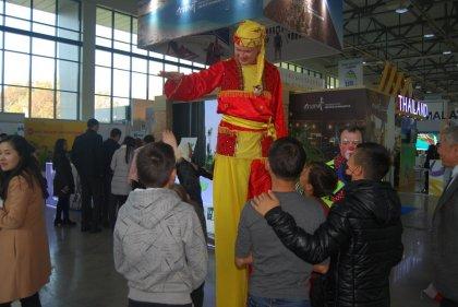 Выставка промышленной ярмарки и кооперационной биржи Узбекистана