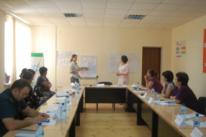 Серия практикумов в рамках проекта: «Усиление механизмов защиты уязвимых детей и семей в Узбекистане»