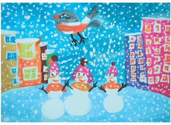 Новогодняя открытка 004