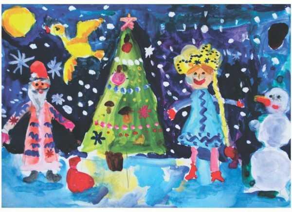 Новогодняя открытка 006