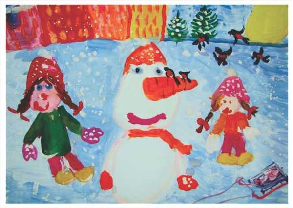 Новогодняя открытка 011