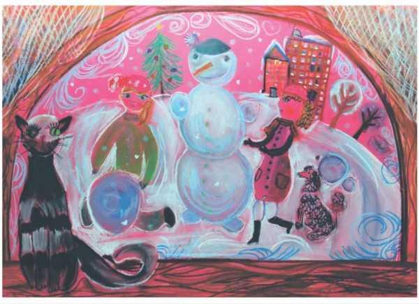 Новогодняя открытка 008